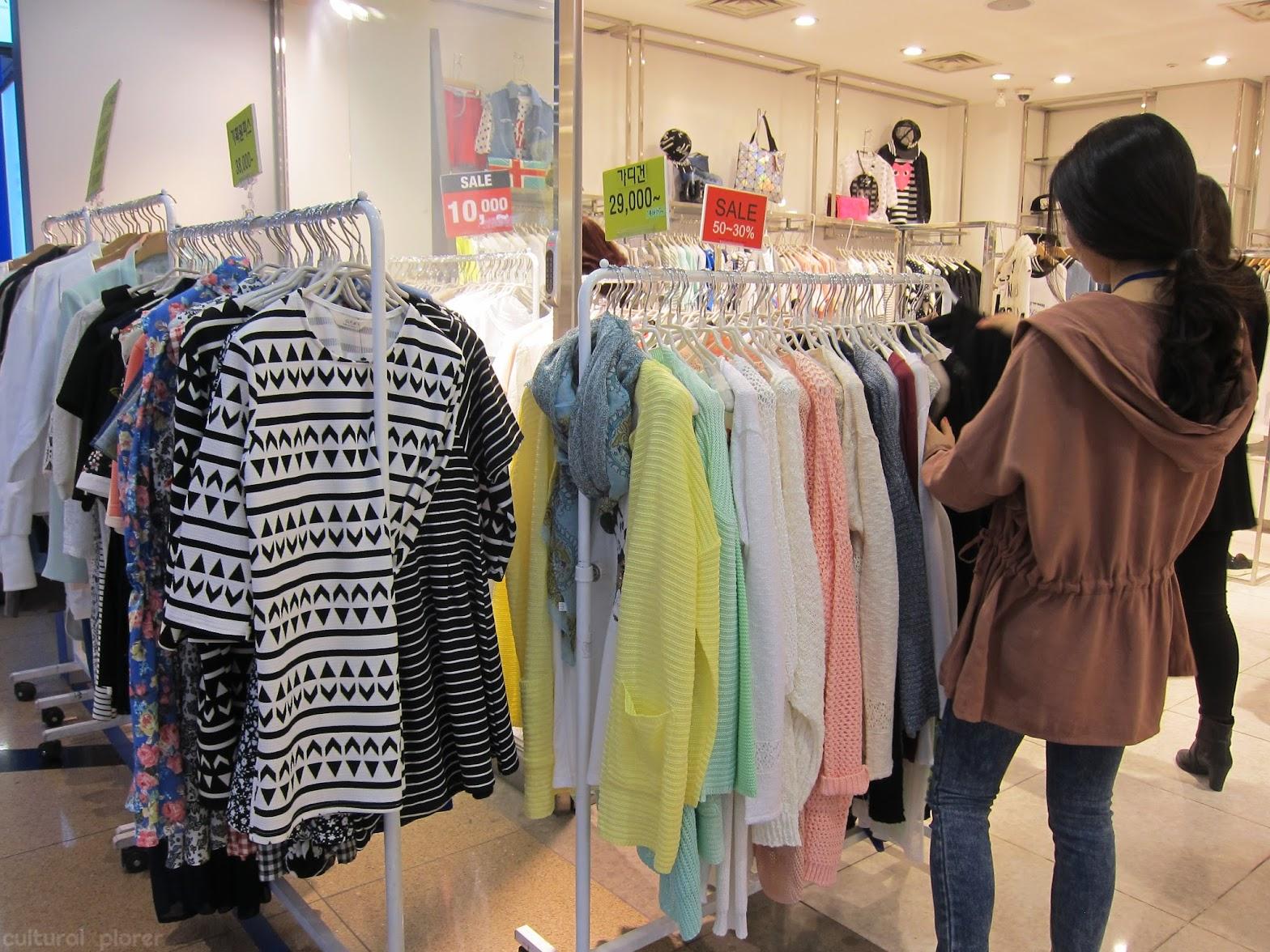 Shopping Gangnam