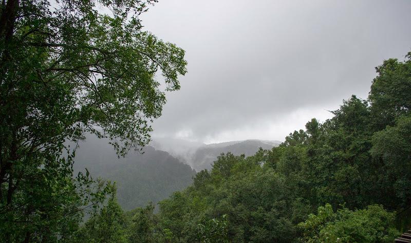 Cloudy Western Ghats - Doodhsagar Trek