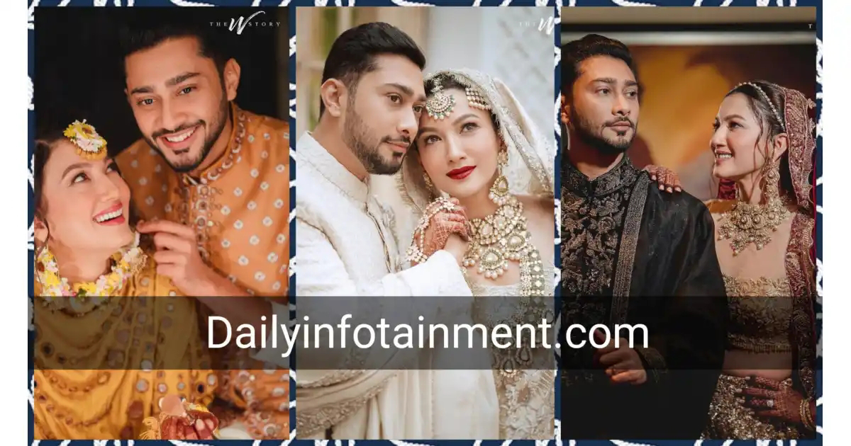 Awesome Pictures of Gohar Khan and Zaid Darbar Wedding