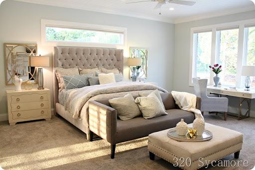 serene master bedroom paint color