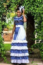 60541a21b 10+ Latest sotho traditional shweshwe dresses. You may also like  inspiration board copper & shwe shwe ; local colour styled shoot from the  new wedding ...