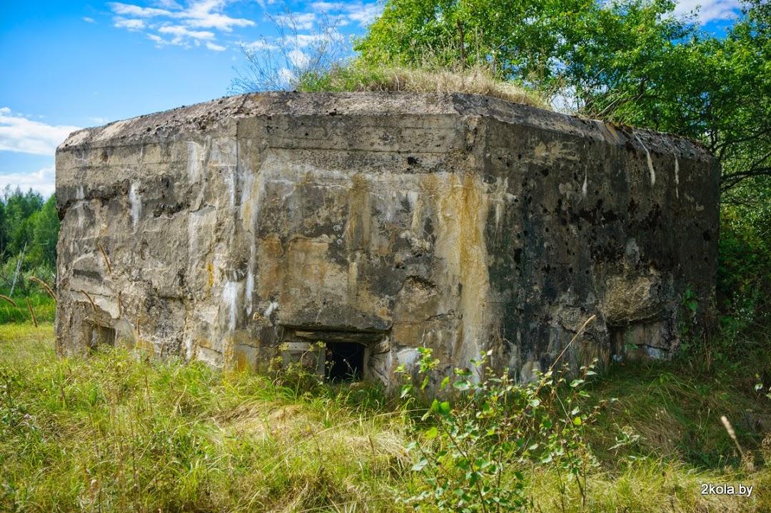 Оборонительное сооружение первой мировой войны