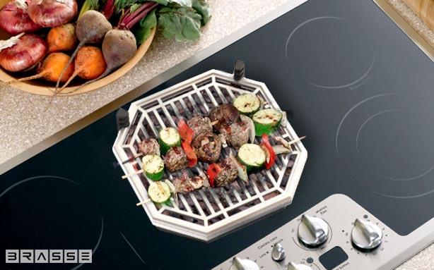 *瓦斯爐上也可以享受BBQ美味:Brassé BBQ室內無煙燒烤爐架! 4