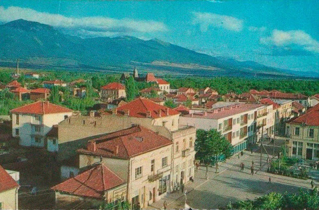 resen postcard old 6 - Resen Macedonia - Old Photos