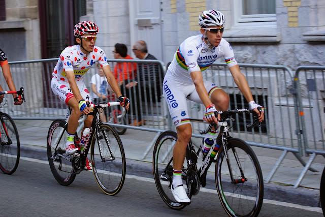 Rui Costa en Rafal Majka