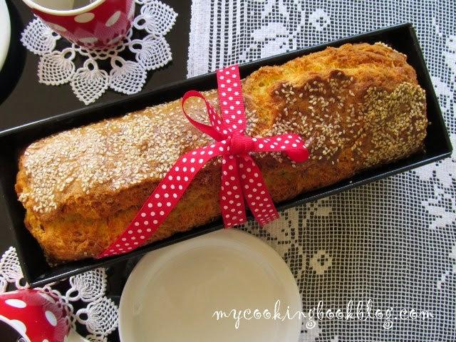 Солен кекс с халуми