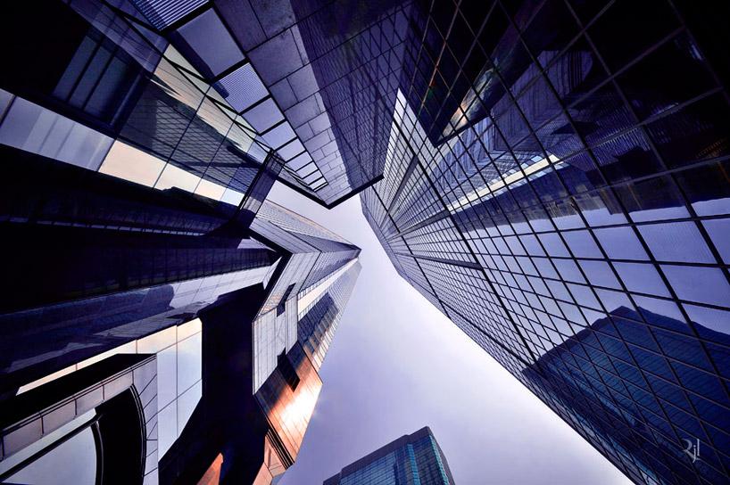 *垂直地平線:藝術家 Romain Jacquet-Lagreze 90度香港仰空攝影作品! 4