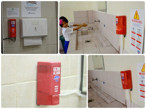 Safeguard Germ Alarm - Proper Hand-washing in School