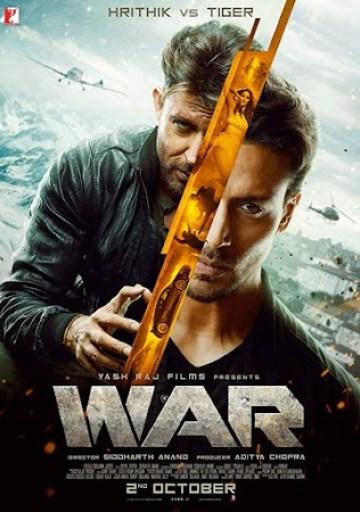 War War (2019) Full Movie Download 300MB 480P PDVD HD Free Hindi