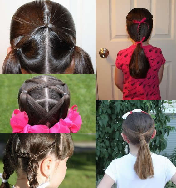 School Girl Hairstyle For Short Hair 2017 Styles 7