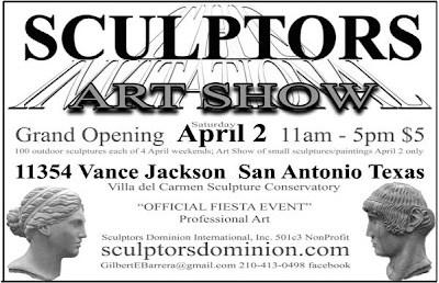 Call to Artists Sculptors Art Show, San Antonio