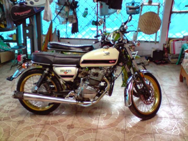 Modifikasi Motor Gl 100 Modifikasi Custom