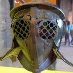 Awesome bug-eye gladiator mask.