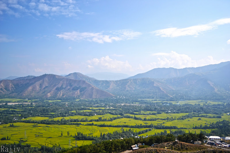 First view of Kashmir Valley