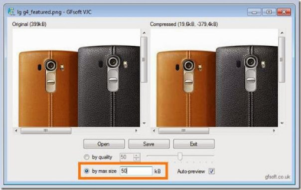 cara merubah ukuran kualitas gambar