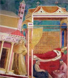 Giotto, Il sogno di Innocenzo III