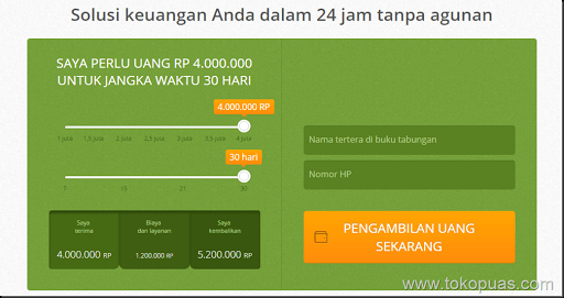 solusi pinjaman online dengan cepat