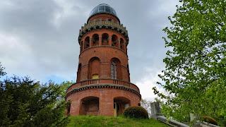Der Rugardturm in Bergen auf Rügen