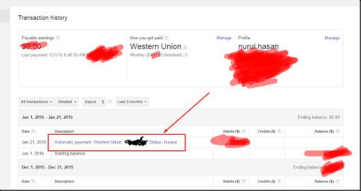 cara mencairkan dana google adsense