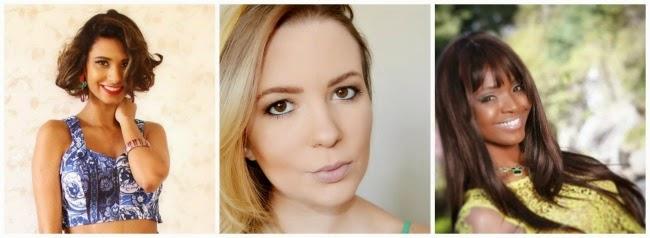 1 batom em 4 mulheres - Blogs participantes