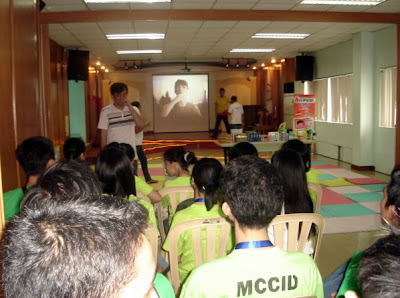 February 5: Sir Jojo interprets a video presentation of Lamoiyan Corporation.