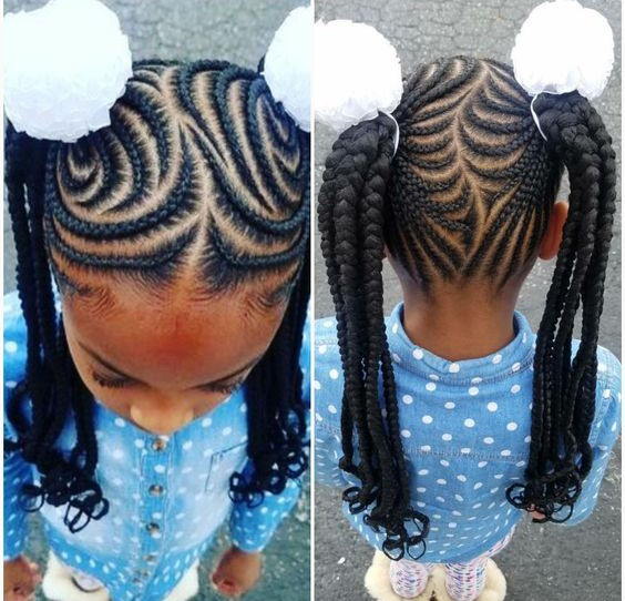 2018 Black Girls Braided Hairstyles - Little Black Girls Hairstyles 2