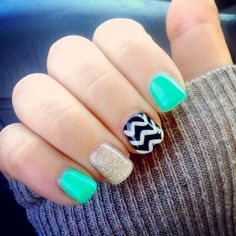 gel nails and acrylic nails for women 2017 fashiong4