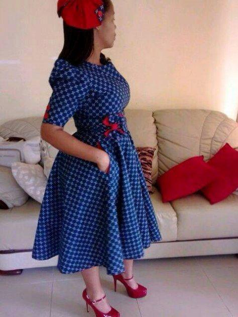 Lesotho Shweshwe Designs New Style 2017 Styles 7