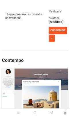 Palki 2 blogger template
