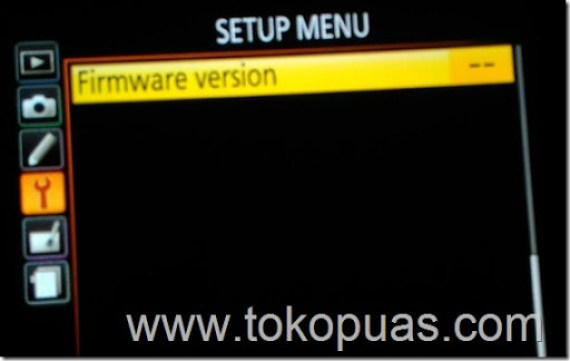cara upgrade firmware nikon d5200