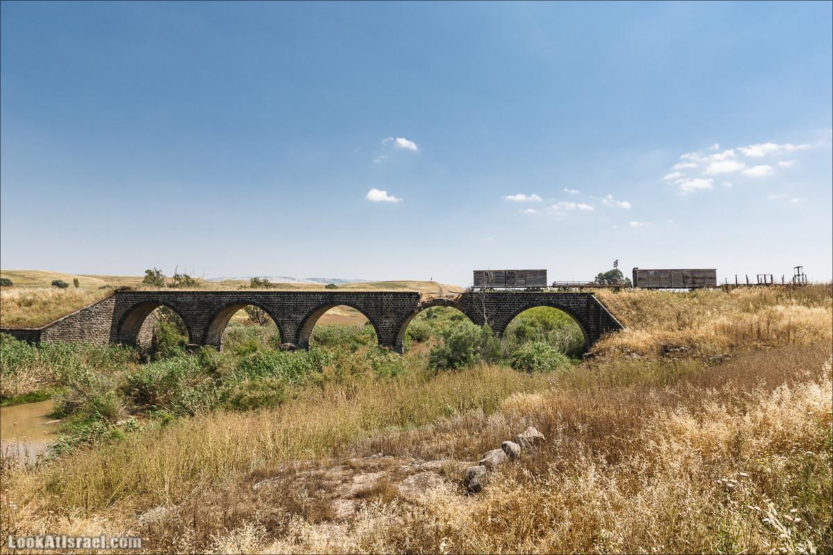 Наараим, Старый мост   Naharaim, Old Bridge   נהריים, גשר הישן   LookAtIsrael.com - Фото путешествия по Израилю