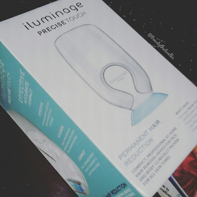 iluminage precise touch permanent hair removal