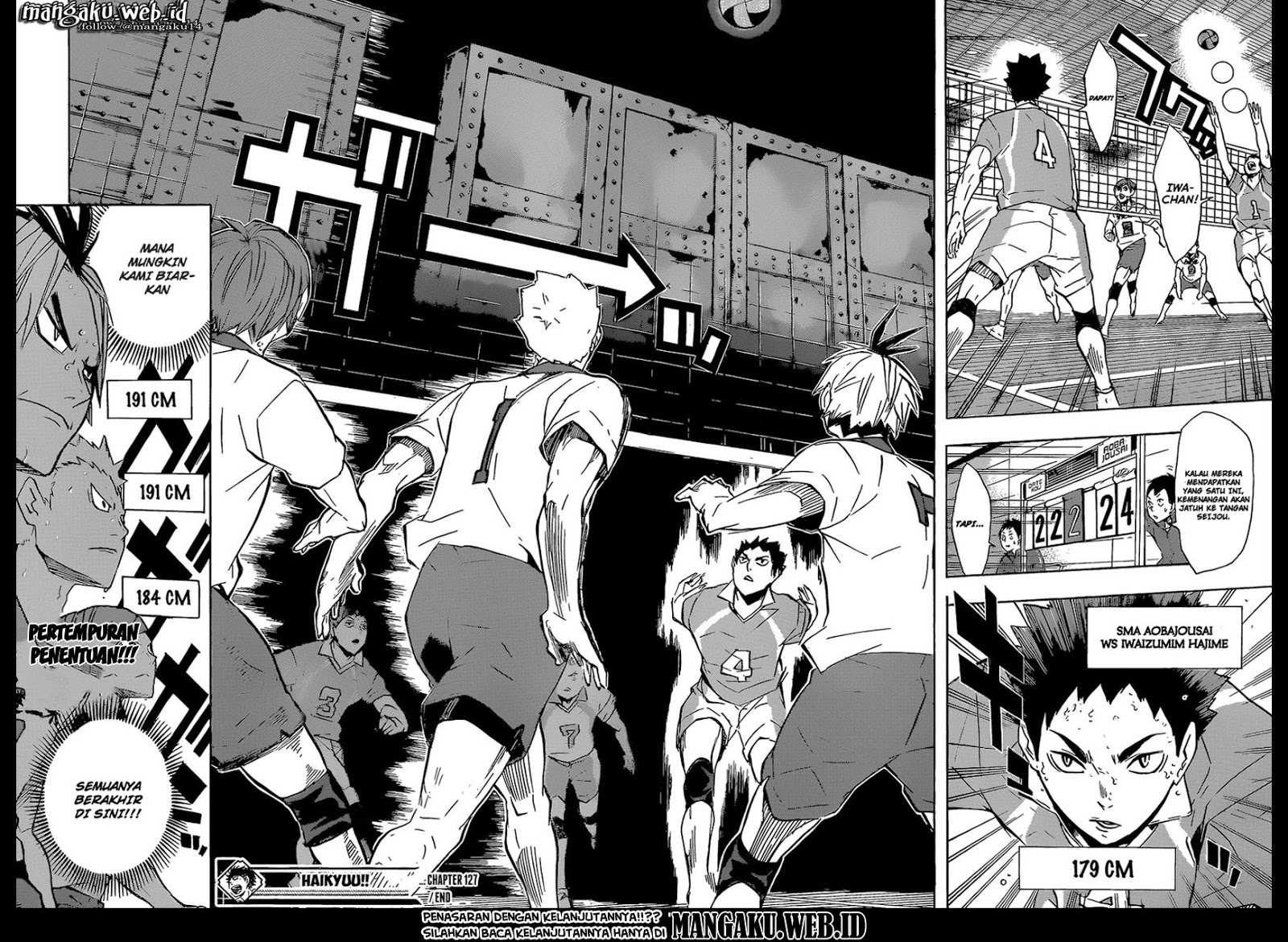 Haikyuu!!: Chapter 127 - Page 19