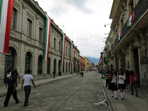 Alcala (pedestrian area) in Oaxaca City