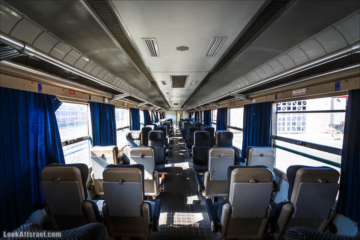 Хайфский музей железных дорог и паровозов | Haifa railroads and trains museum | מוזאון רכבת ישראל בחיפה | LookAtIsrael.com - Фото путешествия по Израилю