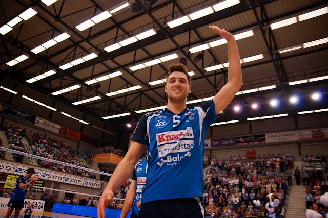 Pieter Coolman, speler van het jaar '14-'15 van Knack Roeselare