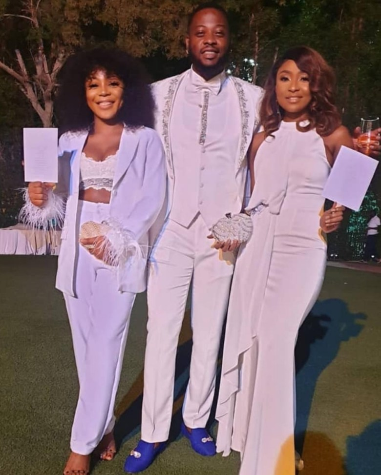 Image result for First Video and Photos from BamBam and Teddy A's white wedding in Dubai