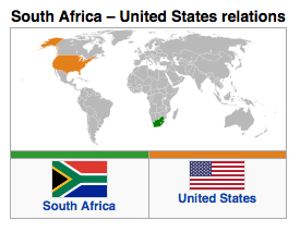 South Africa - United States Relations