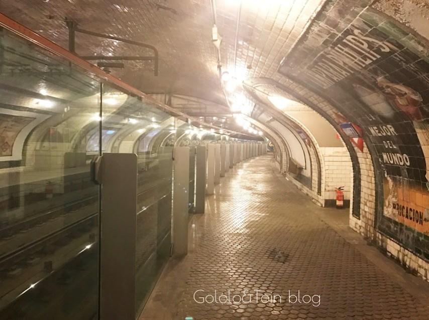andén estación fantasma de madrid