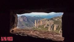 Genial vista desde el Mirador de los Buitres. © aunpasodelacima