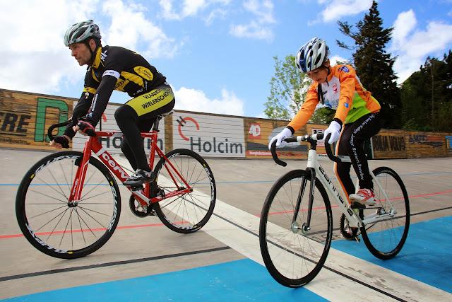 training wielerpiste