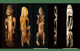 Ukiran Kayu Suku Asmat kerajinan suku Asmat