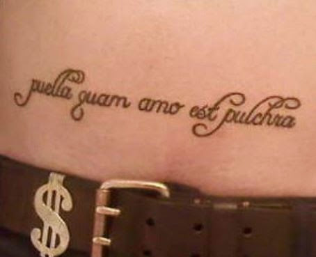 Latin Tattoos
