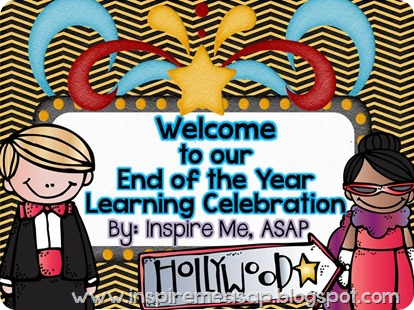 End of the Year Learning Celebrations!