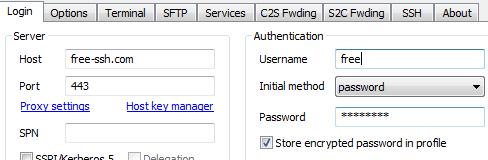 Cara menggunakan Free SSH untuk Membuka Situs yang Diblokir