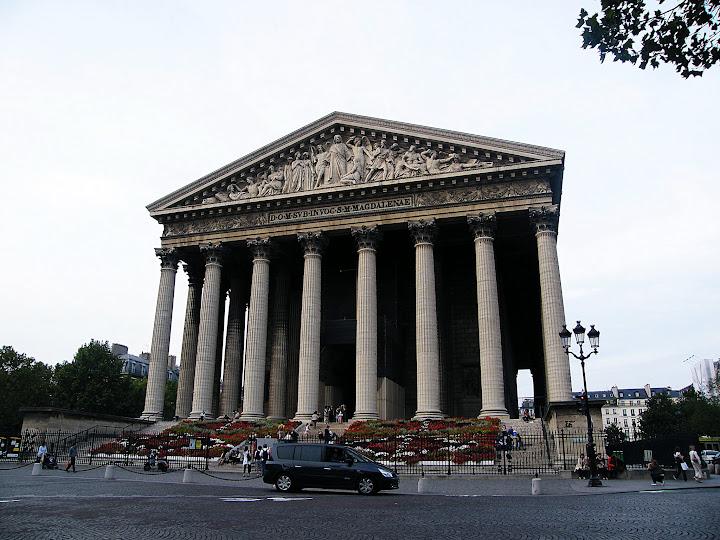 Qué ver en París en un fin de semana; iglesia de la Madeleine