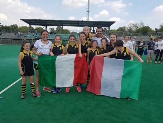Le nostre ragazze sono campionesse under 14 : bravissssssime !!!