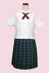 秋田市立秋田商業高等学校の女子の制服4