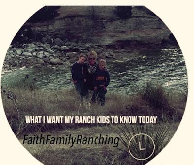 Ranching, Ranch Kids, Circle L Ranch, Kids, Parenting