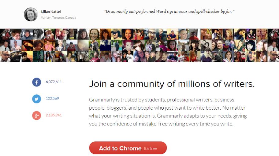 dang ky Grammarly